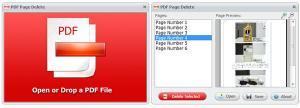 PDF Page Delete 2.0 - náhled