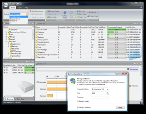 DriveSpace 1.0 - náhled