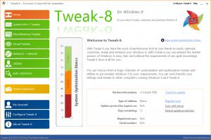 Tweak-8 1.0.1065 - náhled
