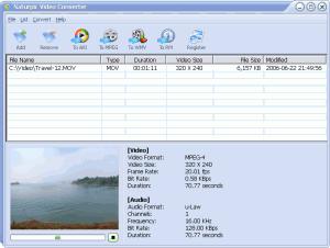 Naturpic Video Converter 1.20 - náhled
