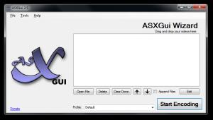 ASXGui 2.5.7 - náhled