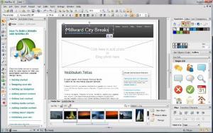 Serif WebPlus X5 - náhled