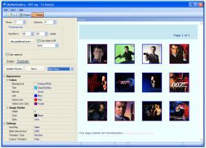 MyWebGallery 12.2 - náhled