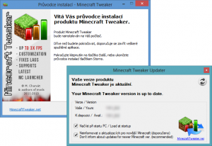 Minecraft Tweaker 1.12.2_17.9 - náhled