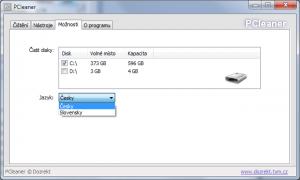 PCleaner 1.2 - náhled