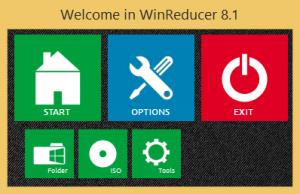 WinReducer 8.1 1.5.9.0 - náhled