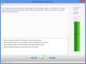 Testcheck 2.1.1 - náhled