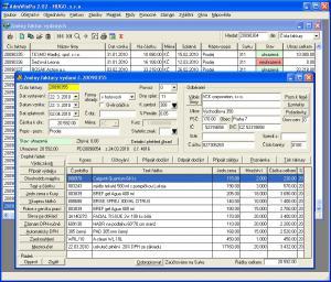 Účetní program AdmWin DE 2.74 - náhled