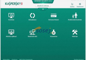 Kaspersky Internet Security 2016, 1 lic. 1 rok - náhled