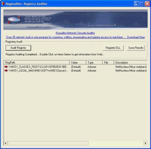 RegAuditor 2.4.6 - náhled