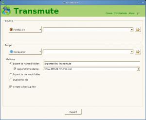 Transmute 2.70 - náhled