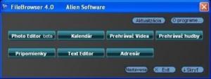 FileBrowser 4.0 alpha - náhled