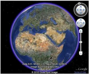 Plugin Google Earth 5.2.0.5920 - náhled