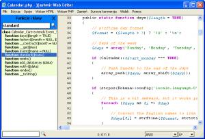 Kashmir Web Editor 1.2.3 - náhled