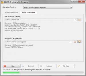 VSEncryptor 1.10.3.335 - náhled
