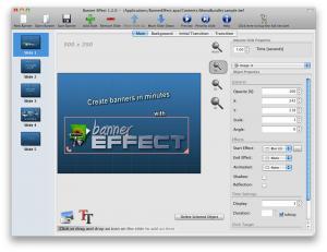 Banner Effect 1.4.3 - náhled