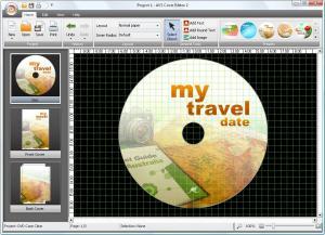 AVS Cover Editor 2.0.1.3 - náhled
