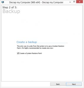 Decrap Portable 3.0.0.1299 - náhled
