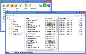 AutoVer 2.2.1 - náhled