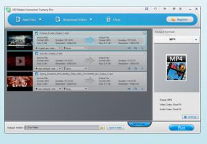 HD Video Converter Factory Pro 18.0 - náhled