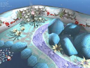 Christmas Lake 3D Screensaver 1.0 - náhled