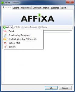 Affixa Desktop 3.2014.11.10 - náhled