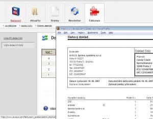 Fakturační systém AWIS - náhled