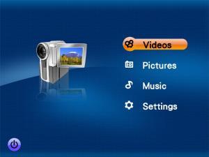 Linpus Media Center 2.0 - náhled