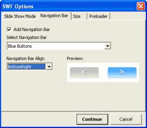 SWF Printer 1.20 - náhled