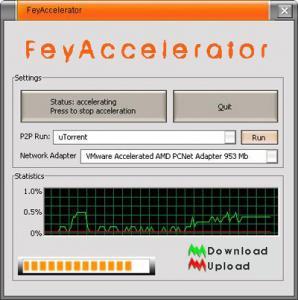 FeyAccelerator 1.5.0.0 - náhled