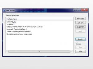 NetCatcher Pro 1.3.0.0 - náhled