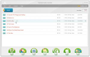 Freemake Audio Converter 1.1.8 - náhled