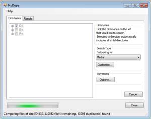 NoDupe 1.17.0.3 - náhled