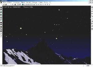 Hvězdy nad horami - náhled