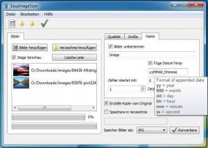 EasyImageSizer 3.3.0.5 - náhled