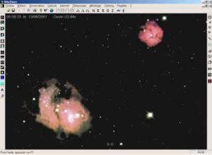 Messier 8 a Messier 20 - náhled
