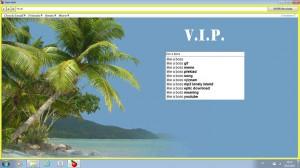 Gold V.I.P. web - náhled