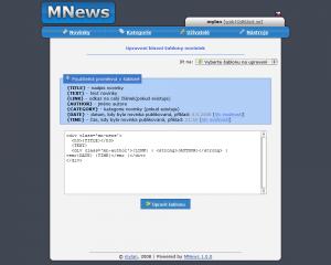 MNews 2.6.1 - náhled