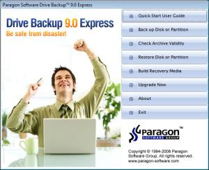 Drive Backup Personal 32-bit 9.0 - náhled