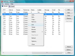 NetGong 8.0 - náhled