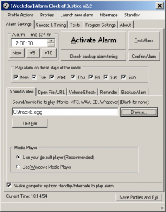 The Alarm Clock of Justice 2.2.1 - náhled