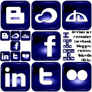 Ikony socialnich siti 1 - náhled