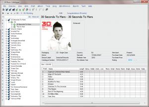 JB Music Catalogue 2.1 - náhled
