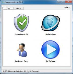 Kompas Antivirus 3.5.0 - náhled