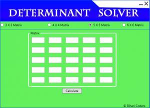 Determinant Solver 1.0 - náhled