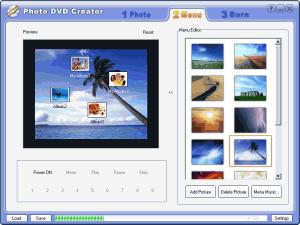 Photo DVD Creator 5.2 - náhled