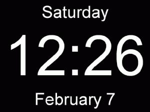 Huge Clock 2.3.0.0 - náhled