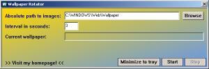 JFR Wallpaper Rotator 1.0 - náhled