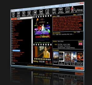 MyFilms Lite 5.0 - náhled