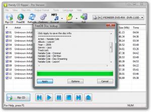Handy CD Ripper 2.5.5 - náhled